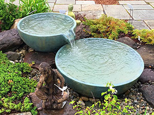 Landscape Fountains and Bubbling Urns | FncPonds