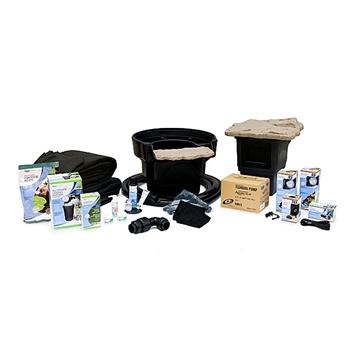 Aquascape Medium 11u2032 X 16u2032 Pond Kit W/ Tsurumi 3PL Pump