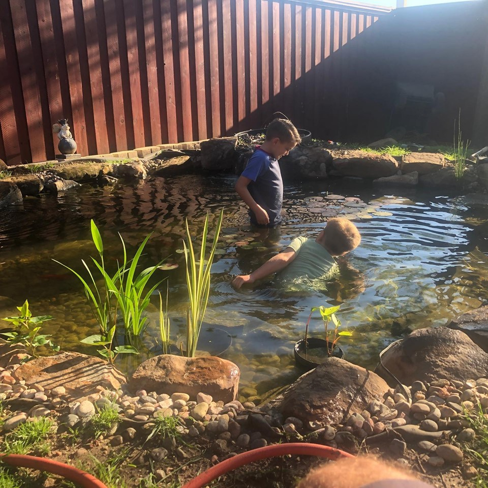 Dallas Outdoor Water Garden